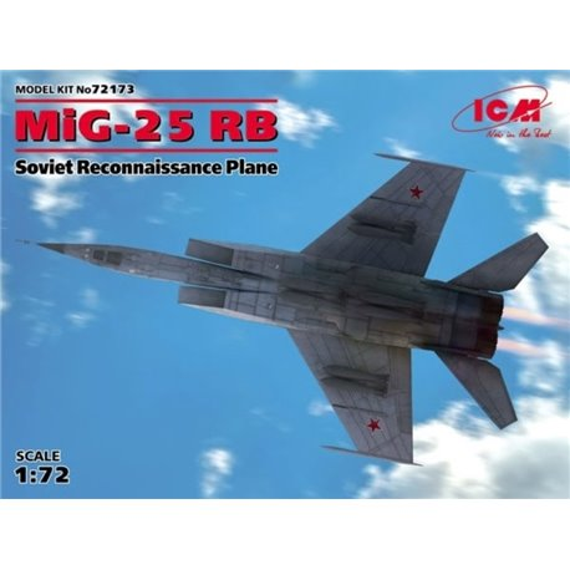 ICM 72173 1/72 MIG-25RB Soviet Reconnaissance Plane