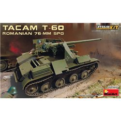 MINIART 35240 1/35 Romanian TACAM T-60 - 76mm SPG with Interior Kit