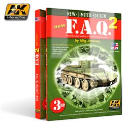 AK INTERACTIVE AK038 F.A.Q. 2 LIMITED EDITION ANGLAIS - ENGLISH