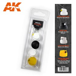 AK INTERACTIVE AK1028 SPRAY DIFUSSERS SET 1