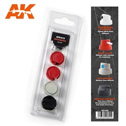 AK INTERACTIVE AK1029 SPRAY DIFUSSERS SET 2