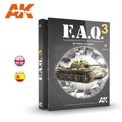 AK INTERACTIVE AK288 F.A.Q. 3 of the Modern AFV Painting Techniques Anglais-English