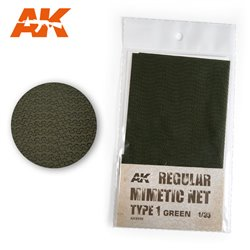 AK INTERACTIVE AK8059 CAMOUFLAGE NET GREEN TYPE 1