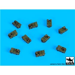 BLACK DOG S35010 1/350 Royal Navy tow tractors