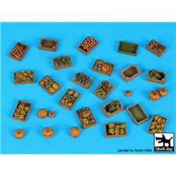 BLACK DOG T35216 1/35 Fruit Accessories Set