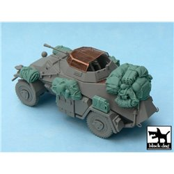 BLACK DOG T48028 1/48 Sd.Kfz. 222 Accessories Set For ICM 48191