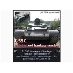CMK 3051 1/35 T-55C Training and Haulage Version for Tamiya