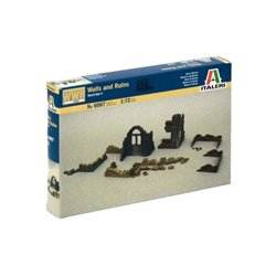 ITALERI 6087 1/72 Walls and Ruins World War II