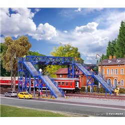 KIBRI 39301 HO 1/87 Passerelle - Footbridge