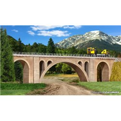 KIBRI 39720 HO 1/87 Hölltobel-viaduct Voie Simple - single track