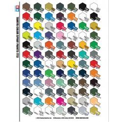 TAMIYA 81703 Peinture Acrylic Mini XF-3 Jaune Mat / Flat yellow