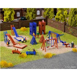VOLLMER 43665 HO 1/87 Deco-set Aire de Jeu - Playground