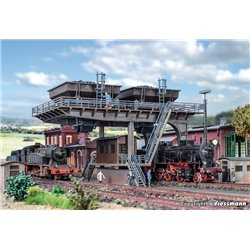 VOLLMER 45720 HO 1/87 Grand Stockage de Charbon - Coaling store, large