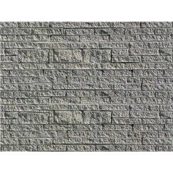 VOLLMER 46039 HO 1/87 Feuille Carton Mur de Grès 25x12.5cm 10pcs