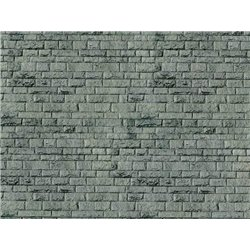 VOLLMER 46052 HO 1/87 Feuille Carton Mur Porphyr 25x12.5cm 10pcs