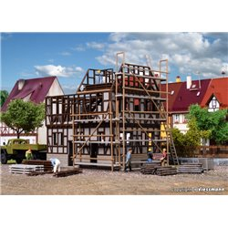 VOLLMER 46889 HO 1/87 Maison en Construction - Half-timbered building shell