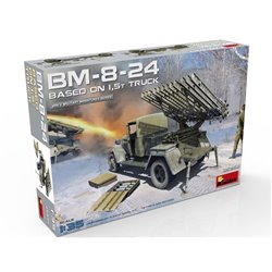 MINIART 35259 1/35 BM-8-24 BASED ON 1,5t TRUCK