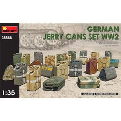 MINIART 35588 1/35 GERMAN JERRY CANS SET WW2