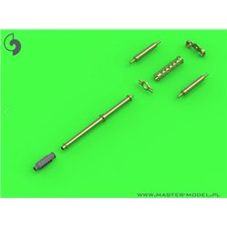 MASTER MODEL AM-72-109 1/72 AH-64 Apache M230 Chain Gun barrel 30mm Pitot tubes