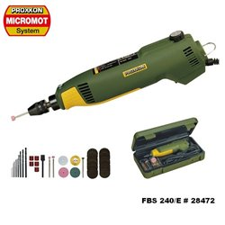 PROXXON 28472 Precision drill/grinder FBS 240/E
