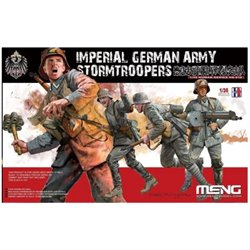 MENG HS-010 1/35 Imperial German Army Stormtroopers WW I