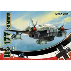 MENG MPLANE-003 Egg He 177 Bomber