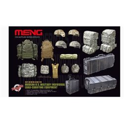 MENG SPS-015 1/35 MODERN U.S. MILITARY INDIVIDUAL LOAD-CARRYING EQUIPMENT