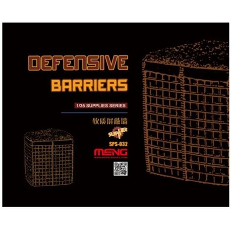 MENG SPS-032 1/35 Defensive Barriers