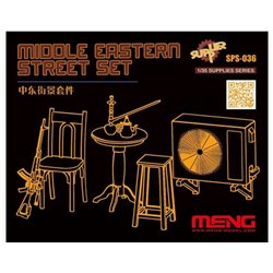 MENG SPS-036 1/35 Middle Eastern Street Set (Resin)
