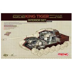 "MENG SPS-037 1/35 German Heavy Tank Sd.Kfz.182 ""King Tiger"" Interior Set"