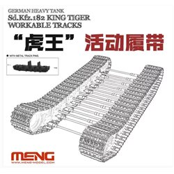 "MENG SPS-038 1/35 German Heavy Tank Sd.Kfz.182 ""King Tiger"" Workable Tracks Meng"