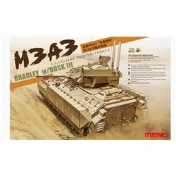 MENG SS-006 1/35 U.S. Cavalry Fighting Vehicle M3A3 Bradley w/BUSK III