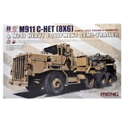 MENG SS-013 1/35 M911 C-HET (8x6) and M747 Heavy Equipment Semi-Trailer