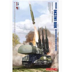 MENG SS-014 1/35 Russian 9K37M1 BUK Air defense missile system