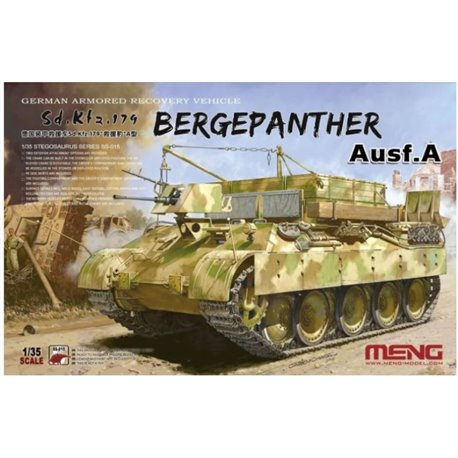 MENG SS-015 1/35 German Armored Recovery Vehicle Sd.Kfz.179 Bergepanther Ausf.A