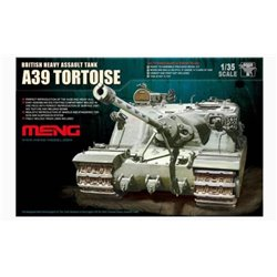 MENG TS-002 1/35 British Heavy Assault Tank A39 Tortoise