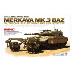 MENG TS-005 1/35 Irsael Main Battle Tank Merkava Mk.3 BAZ Mine Roller System