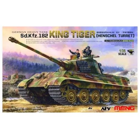 MENG TS-031 1/35 German Heavy Tank Sd.Kfz.182 King Tiger (Henschel Turret)