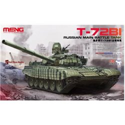 MENG TS-033 1/35 Russian Main Battle Tank T-72B1
