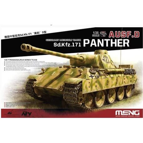 MENG TS-038 1/35 Sd.Kfz.171 Panther Ausf.D