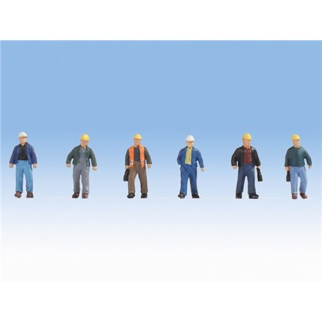 NOCH 15057 HO 1/87 Construction Workers