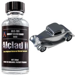 Alclad II Lacquers ALC-701 Bright Silver Candy Base 30ml