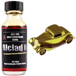 Alclad II Lacquers ALC-705 Candy Lemon Yellow Enamel 30ml