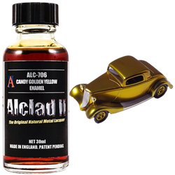 Alclad II Lacquers ALC-706 Candy Golden Yellow Enamel 30ml