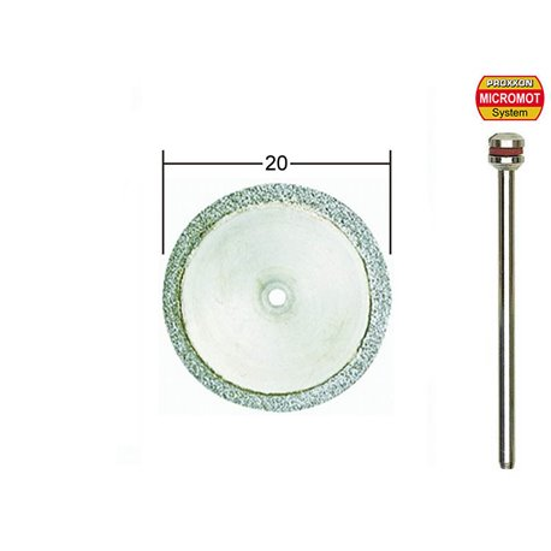 PROXXON 28840 Disques à tronçonner diamantés