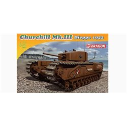 DRAGON 7510 1/72 Churchill Mk.III, Dieppe 1942