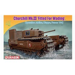 DRAGON 7520 1/72 Churchill Mk.III w/Deep Wading Kit