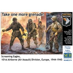MASTERBOX MB3574 1/35 Take one more grenade! Screaming Eagles 101st Airborne