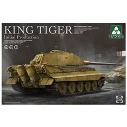 TAKOM 2096 1/35 WWII German Heavy Tank King Tiger Inital production