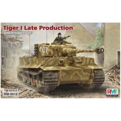 RYE FIELD MODEL RM-5015 1/35 Sd.Kfz. 181 Pz.kpfw.VI Ausf. E Tiger I Late Production
